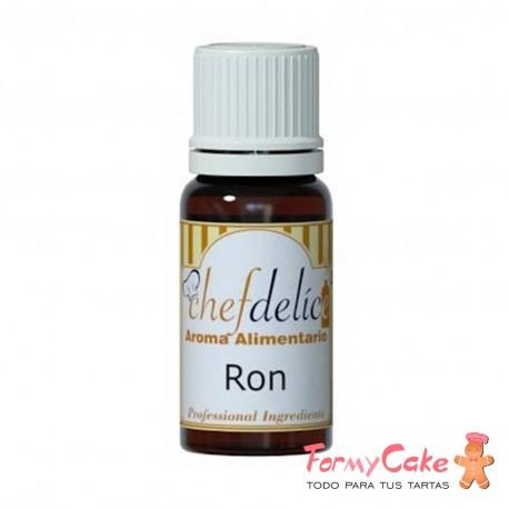 Aroma de Ron 10ml Chef Delice