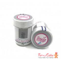 Colorante Gel Plata 35gr Sweet Kolor