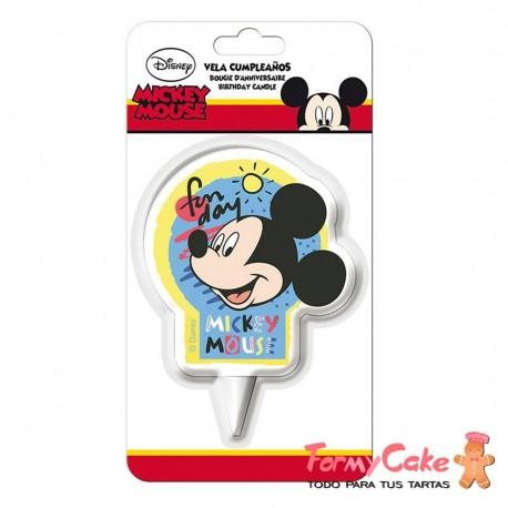 Vela 2D Minnie Mouse, 7cm Dekora