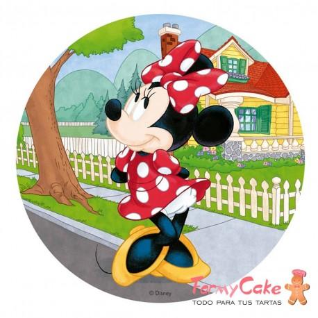 Impresión Comestible Minnie Mouse 20cm
