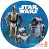 Impresión Comestible Star Wars Foil 20cm