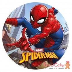 Impresión Comestible Spiderman 20cm