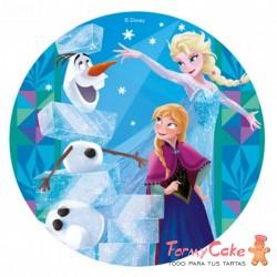 Impresión Comestible Frozen 20cm