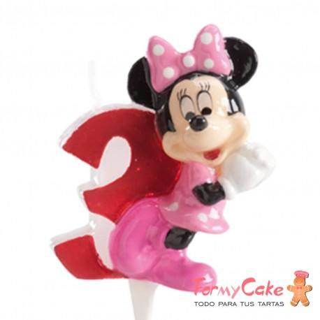 Vela Minnie Mouse nº3 Dekora