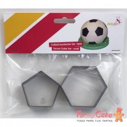 Set 2 Cortadores Futbol DekoFee