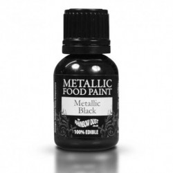 Pintura Metalizada Black Rainbow Dust 20ml