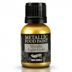 Pintura Metalizada Light Gold Rainbow Dust 20ml