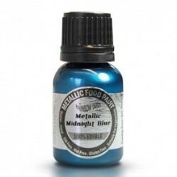 Pintura Metalizada Midnight Blue Rainbow Dust 20ml