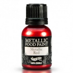 Pintura Metalizada Red Rainbow Dust 20ml