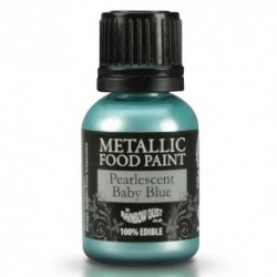 Pintura Metalizada Pearlescent Baby Blue RD 20ml