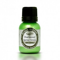 Pintura Metalizada Pearlescent Spring Green RD 20ml