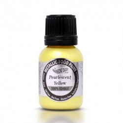 Pintura Metalizada Pearlescent Yellow Rainbow Dust 20ml