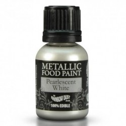 Pintura Metalizada Pearlescent White Rainbow Dust 25ml