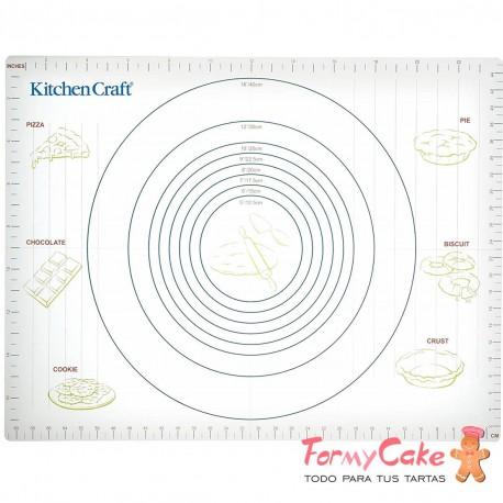 Base Antiadherente Para Amasar 61x43cm Kitchen Craft