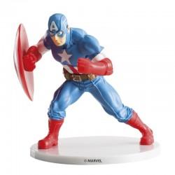 Figura Capitán América Avengers 9cm Dekora