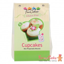 Preparado Cupcakes 500g Sin Gluten Funcakes