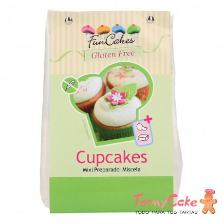 Mezcla Cupcakes 500gr Sin Gluten Funcakes