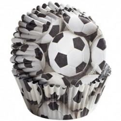 Cápsulas Wilton Balones de Fútbol 36ud