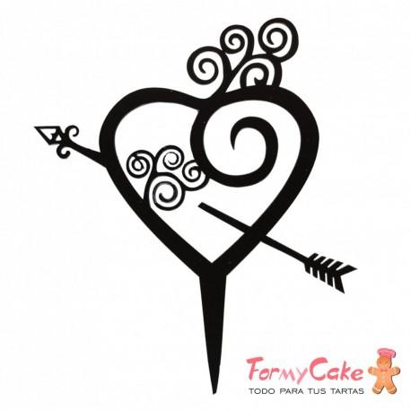 "Cake Topper Acrílico ""Love"" Modelo 1"
