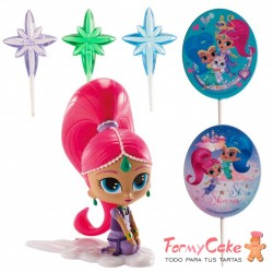 Kit Decoración Shimmer & Shine Dekora