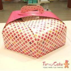 Caja para Tartas Hexagonal 24cm