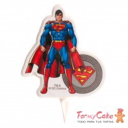 Vela Justice League, Superman, 2D Dekora 8cm