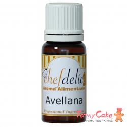 Aroma De Avellana 10ml Chef Delice