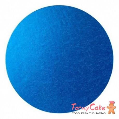 Base Redonda Gruesa para Tartas 30cm Azul Bebe