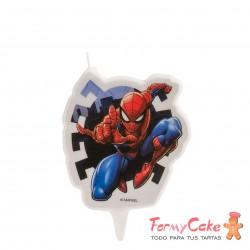 Vela Spiderman 2D, 7cm Dekora