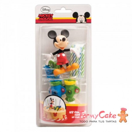 Kit Mickey Mouse, Dekora