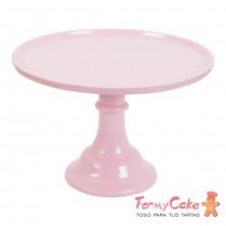 Stand Para Tartas Grande Rosa 30cm