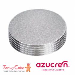 Base Redonda gruesa para Tartas 30 cm Azucren
