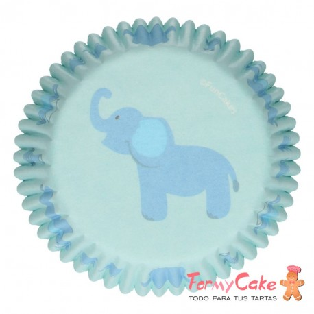 Cápsulas para Hornear Baby Boy 48ud. Funcakes