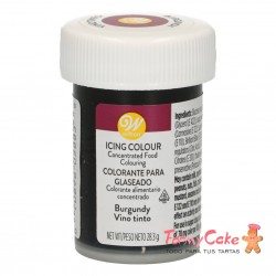 Colorante Gel Borgoña Wilton 28gr