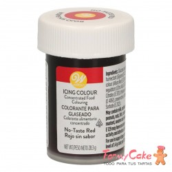 Colorante Gel Rojo Sin Sabor Wilton 28gr