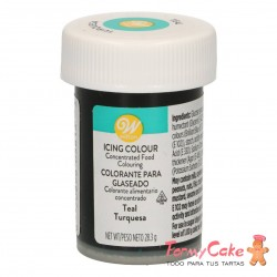 Colorante Gel Turquesa Wilton 28gr