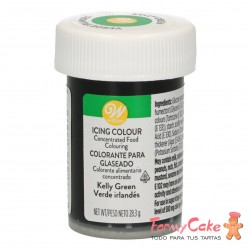 Colorante Gel Verde Kelly Wilton 28gr