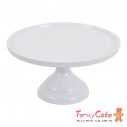 Stand Para Tartas Pequeño Blanco 23cm