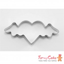 Cortante Corazón Con Alas 14cm Cutter