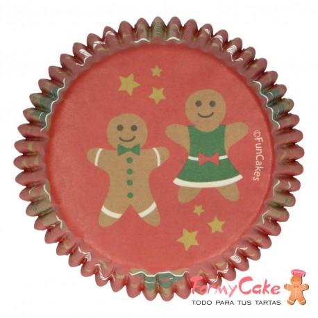 Cápsulas para Hornear Gingerbread 48ud. Funcakes
