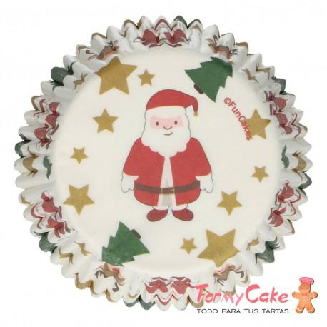 Cápsulas para Hornear Christmas 48ud. Funcakes