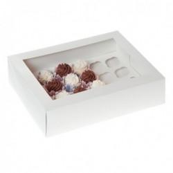 Caja 24 MiniCupcakes Blanca
