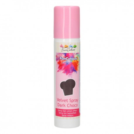 FunCakes FunColours Velvet Spray -Dark Choco- 100ml