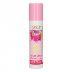 FunColours Velvet Spray -Pink- 100ml. FunCakes