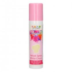 FunColours Velvet Spray -Pink- 100ml. FunCakes