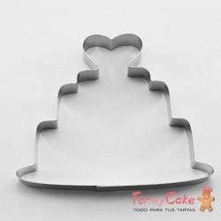 Cortante Tarta Corazón 10,5cm Cutter