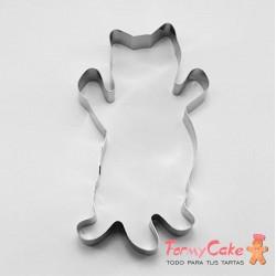 Cortante Gatito Panza Arriba 12cm Cutter