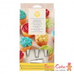 Kit Decoración Cupcakes 12 Piezas Wilton