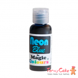 Colorante En Gel Neon Magic Colours Azul 32gr