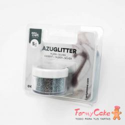Purpurina Decorativa Plata 5gr Azuglitter
